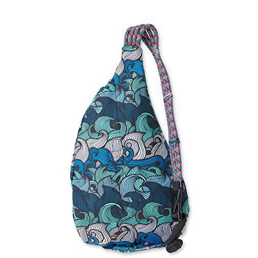 Kavu Mini Rope Bag, Ocean Overlay