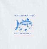 Southern Tide M's Short Sleeve Original Skipjack Tee, White
