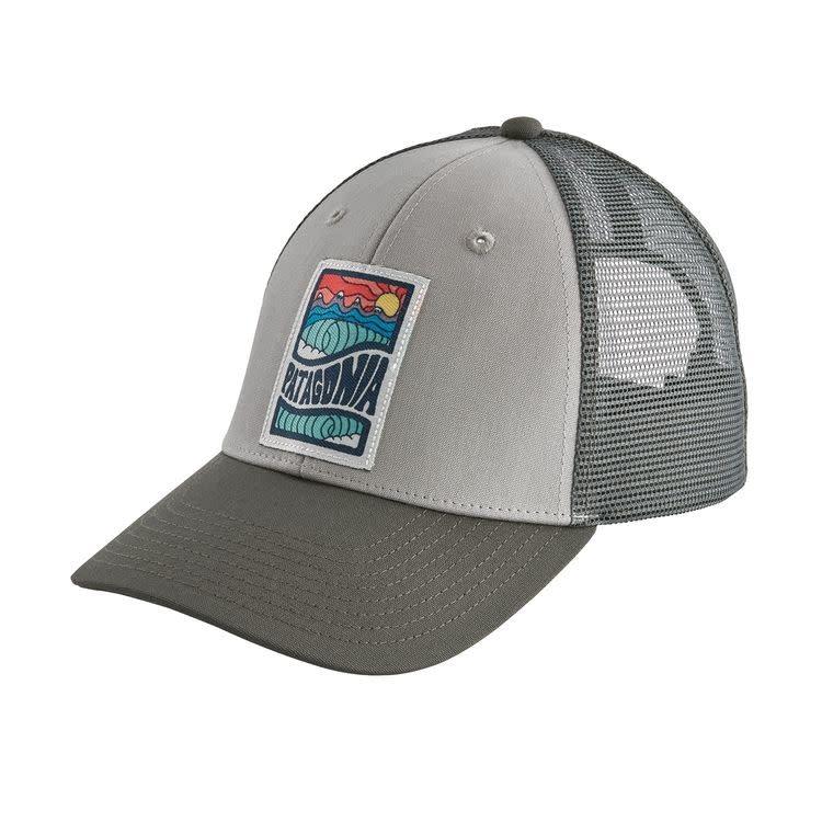 Patagonia Cosmic Peaks LoPro Trucker Hat, Drifter Grey