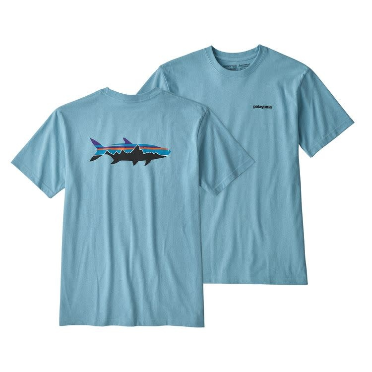25dc6d992 M's Fitz Roy Tarpon Responsibili-Tee, Break Up Blue