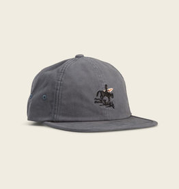 Howler Brothers Lonerider Strapback Hat, Deep Blue