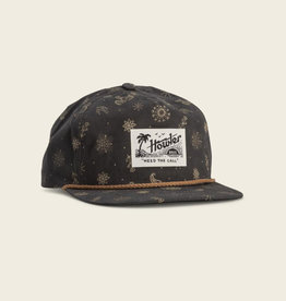 Howler Brothers Bandito Print Snapback, Antique Black
