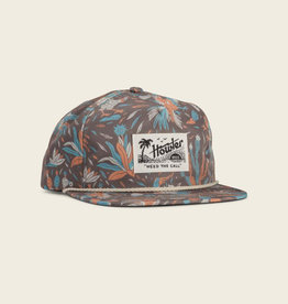 Howler Brothers Gallos Galore Print Snapback, Espresso