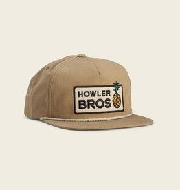 Howler Brothers Hospitality Snapback, British Khaki