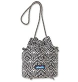 Kavu Bucket Bag, Black Batik