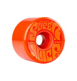 Eastern Skate Supply OJ Super Juice 60mm 78a Individual Wheels, Orange