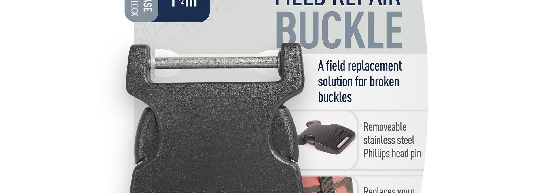 """Field Repair Buckle 38mm / 1 1/2"""" Side Release 1 Pin"""