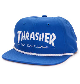 Eastern Skate Supply Thrasher Rope Snapback, Blue