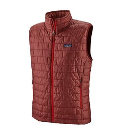 Patagonia M's Nano Puff Vest, Oxide Red