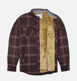 Sherpa Lined Jacket, Oxblood