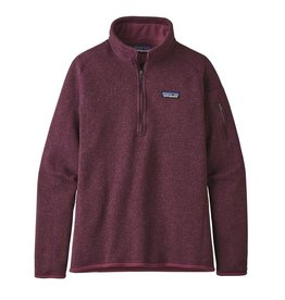 Patagonia W's Better Sweater 1/4 Zip, Light Balsamic