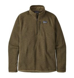 Patagonia M's Better Sweater 1/4 Zip, Sage Khaki