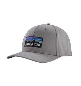 Patagonia P-6 Logo Roger That Hat, Drifter Grey
