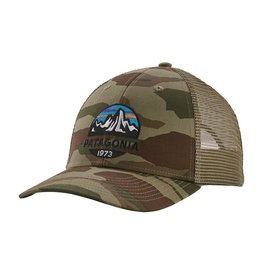 Patagonia Fitz Roy Scope LoPro Trucker Hat, Bear Witness Camo: Sage Khaki