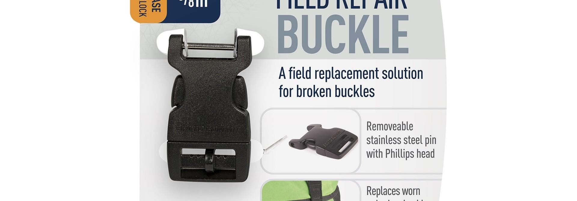 """Field Repair Buckle 15mm / 5/8"""" Side Release 1 Pin"""