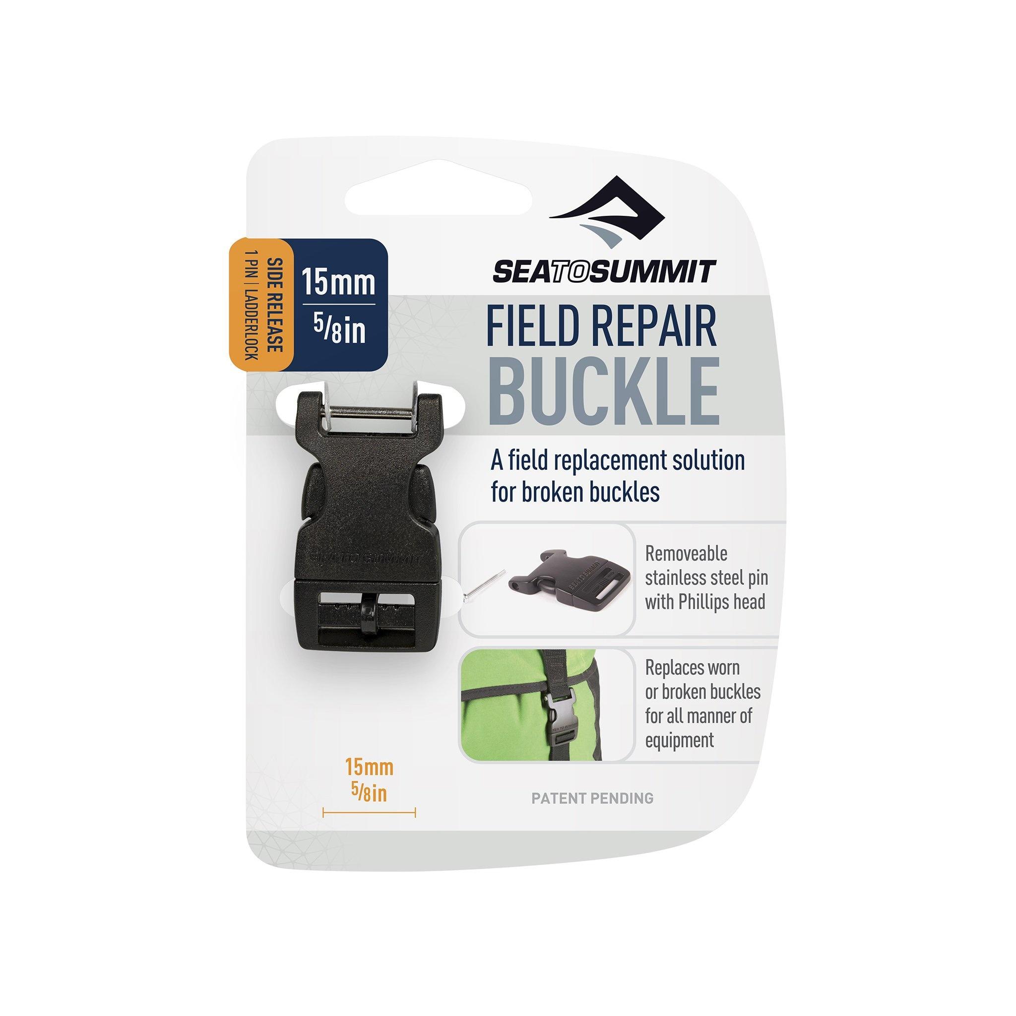"Sea to Summit Field Repair Buckle 15mm / 5/8"" Side Release 1 Pin"