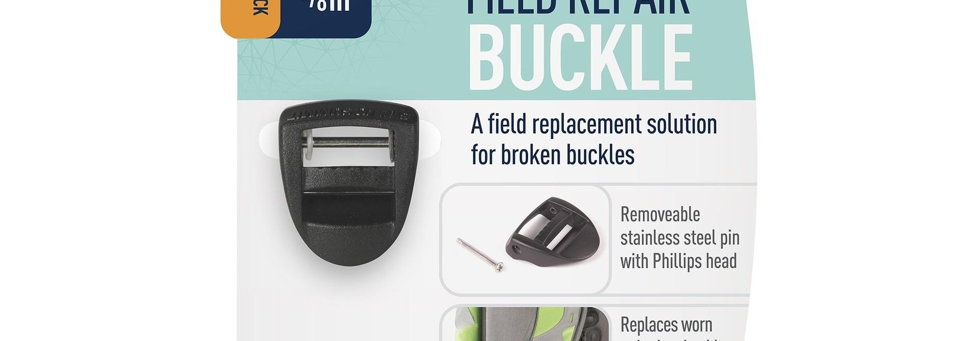 "Field Repair Buckle 15mm / 5/8"" Ladderlock 1 Pin"