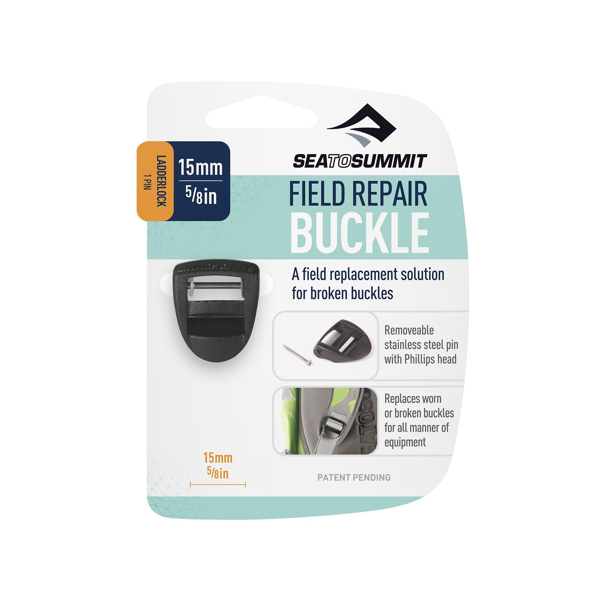 "Field Repair Buckle 15mm / 5/8"" Ladderlock 1 Pin-1"