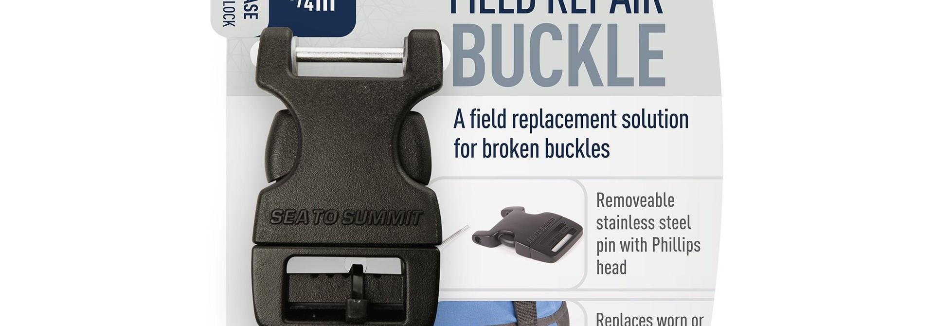 """Field Repair Buckle 20mm / 3/4"""" Side Release 1 Pin"""