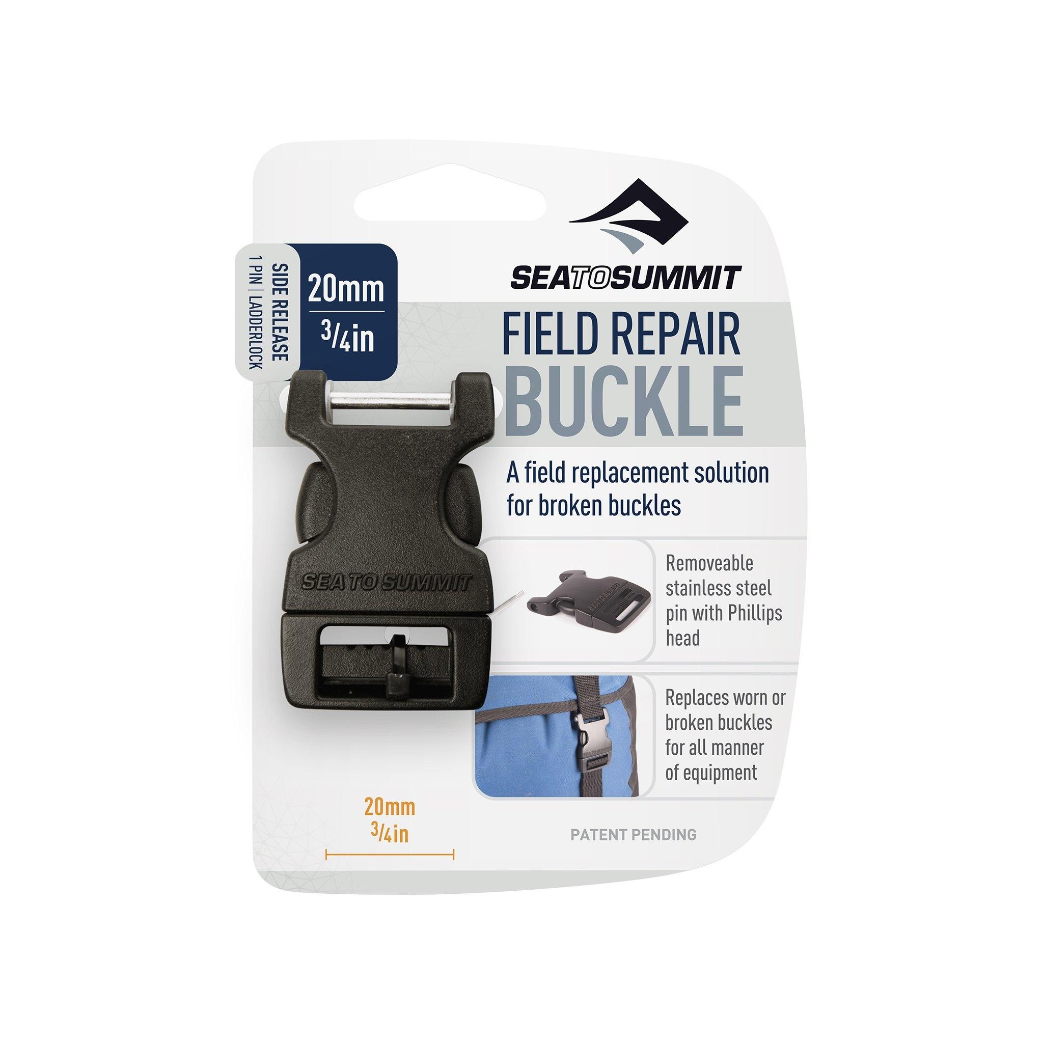 "Sea to Summit Field Repair Buckle 20mm / 3/4"" Side Release 1 Pin"