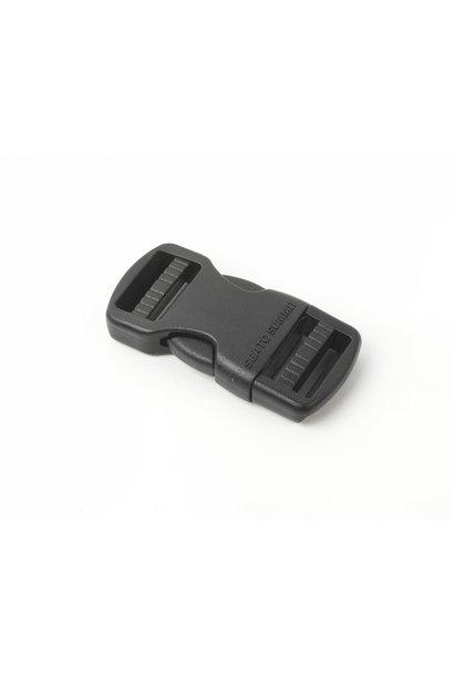 "Field Repair Buckle 20mm / 3/4"" Side Release 2 Ladderlock"
