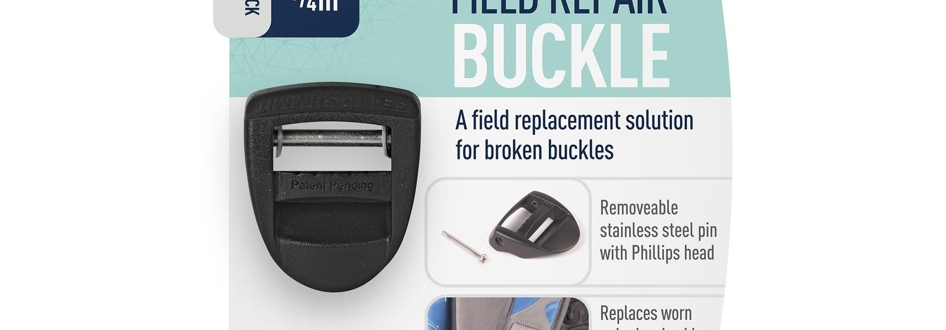 "Field Repair Buckle 20mm / 3/4"" Ladderlock 1 Pin"