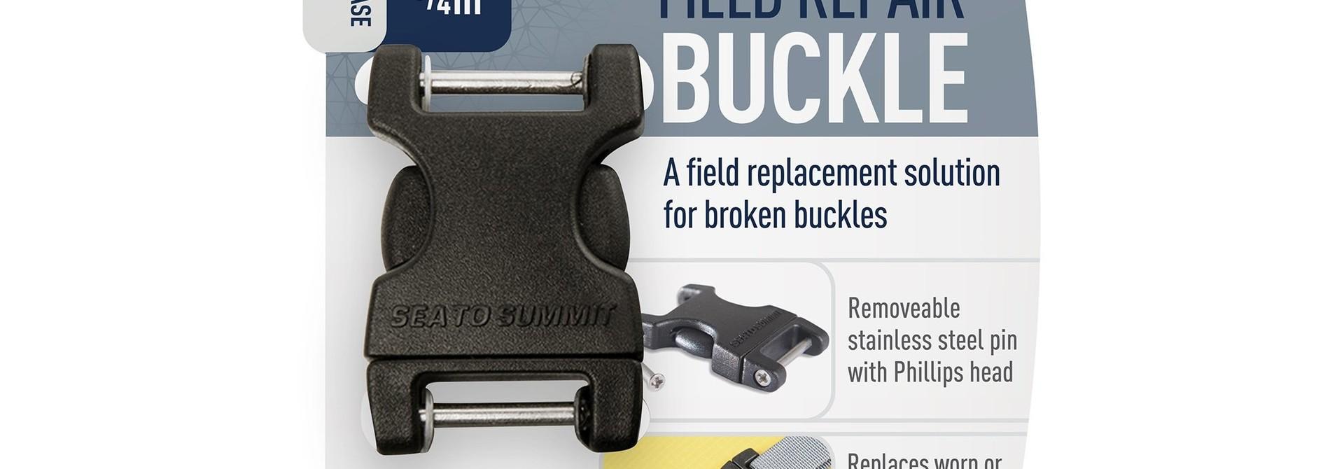 """Field Repair Buckle 20mm / 3/4"""" Side Release 2 Pin"""