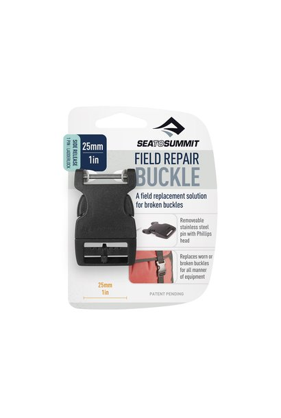 "Field Repair Buckle 25mm / 1"" Side Release 1 Pin, 1 Ladderlock"