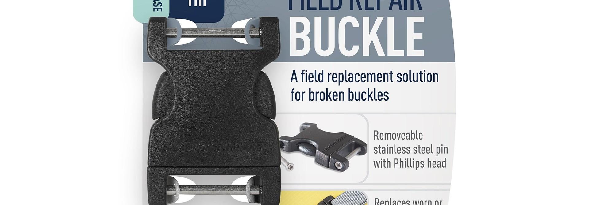 """Field Repair Buckle 25mm / 1"""" Side Release, 2 Pin"""
