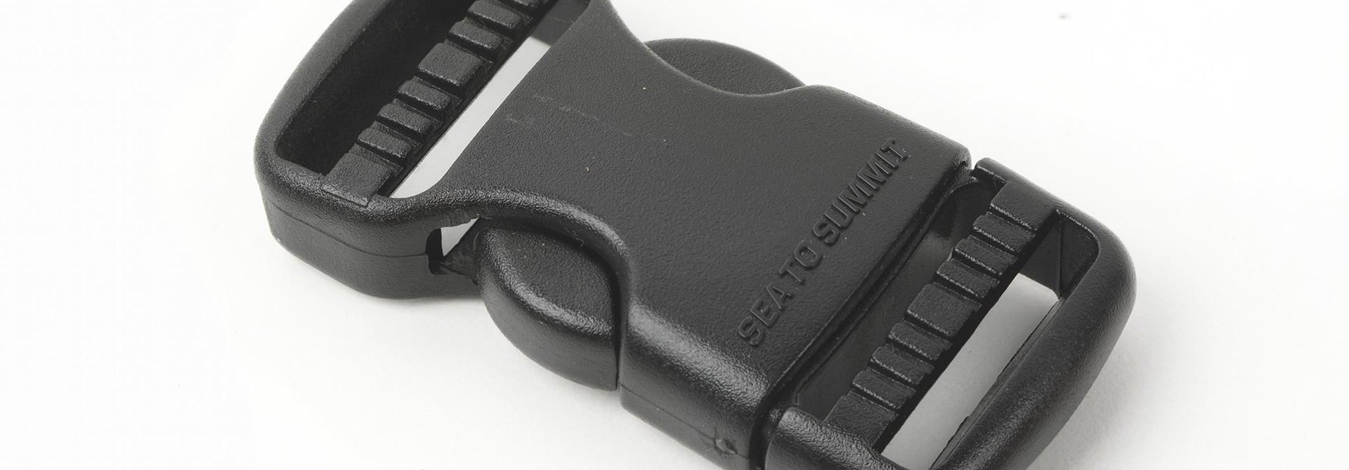 "Field Repair Buckle 25mm / 1"" Side Release, 2 Ladderlock"