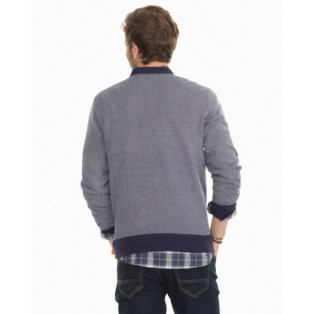 Southern Tide Pacific Highway Twill Sweater, True Navy