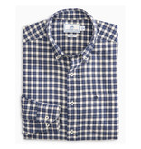 Southern Tide Cutwater Check Sportshirt, Madras Blue