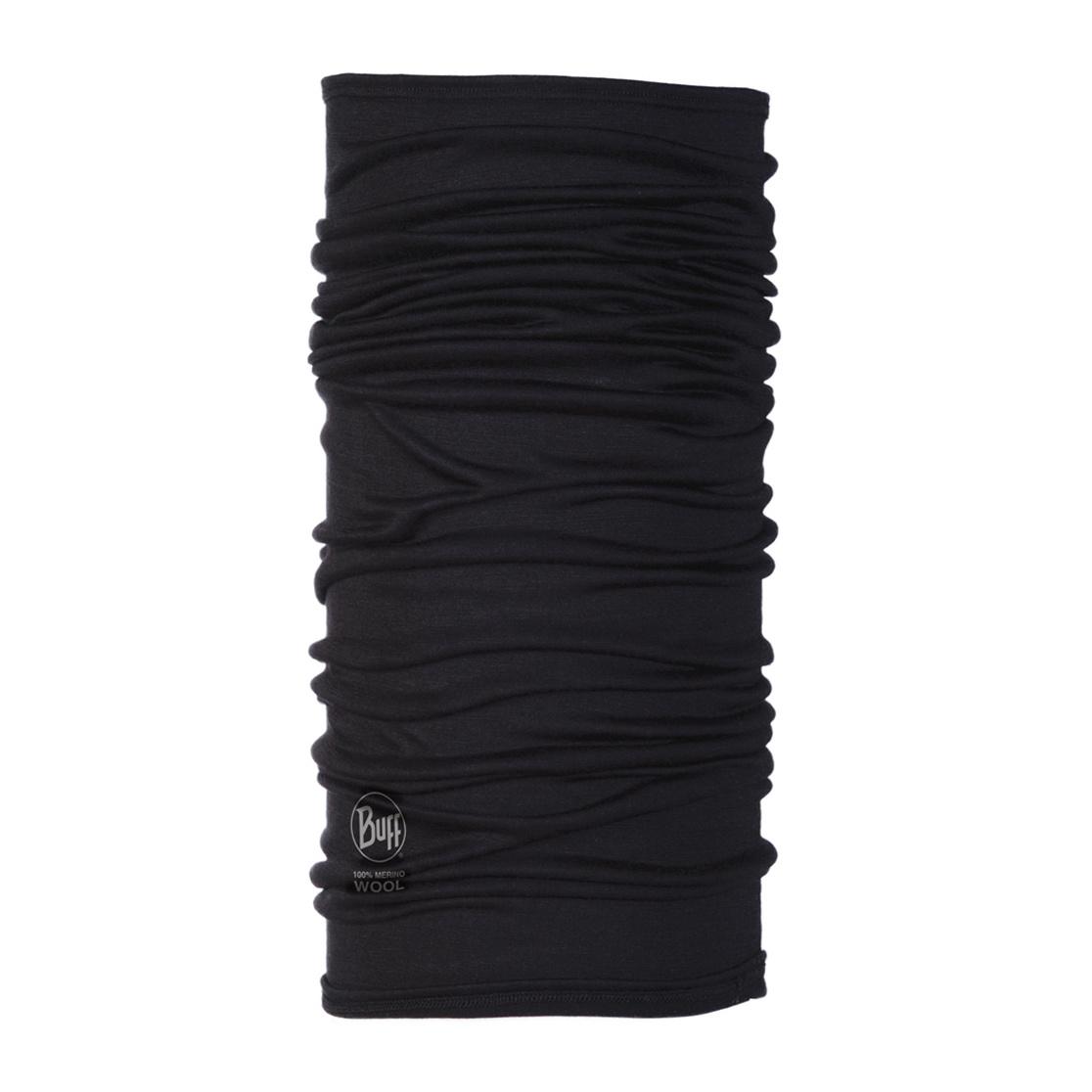 BUFF Lightweight Merino Wool Buff, Black