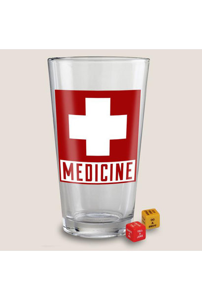 Pint Glass, Medicine