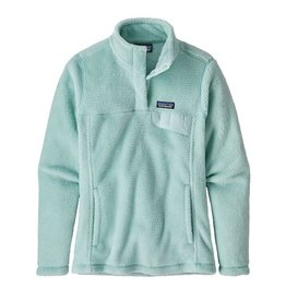 Patagonia W's Re-Tool Snap-T Pullover, Atoll Blue- Atoll Blue X-Dye