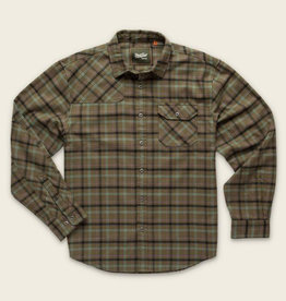 Howler Brothers M's Harker's Flannel, Frio Plaid: Marksman Green