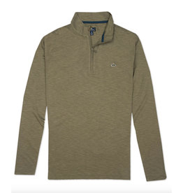 Fish Hippie M's Shad Point Pullover, Hunter Green