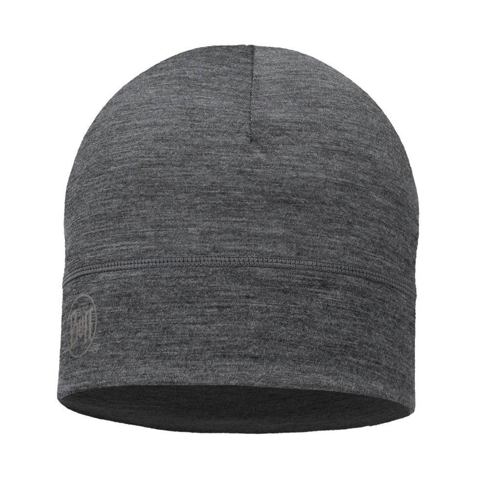 BUFF Lightweight Merino Wool Hat, Grey