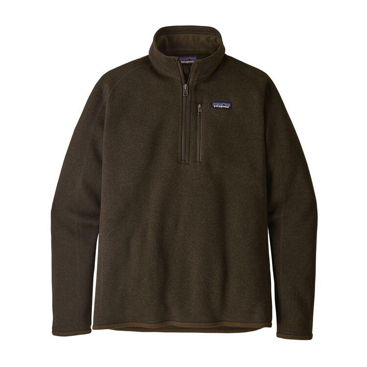 Patagonia M's Better Sweater 1/4 Zip, Logwood Brown