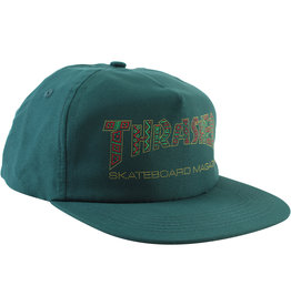 Eastern Skate Supply Thrasher Davis Hat, Forest Green
