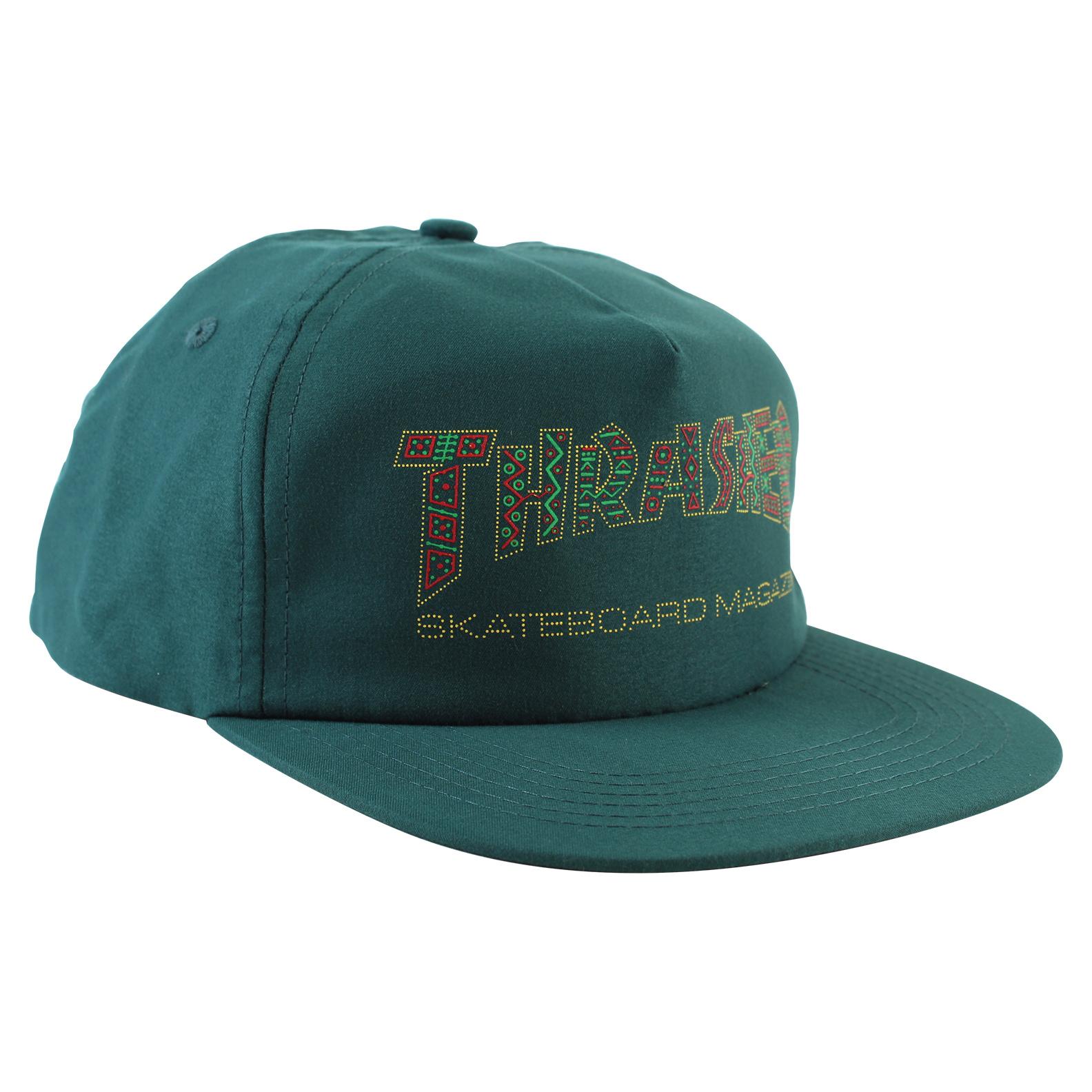 Eastern Skate Supply Thrasher Davis Hat, Forest Green
