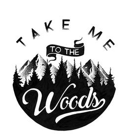 Liberty Mountain Take Me To The Woods Sticker