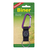 Liberty Mountain Biner with Compass & Key Ring