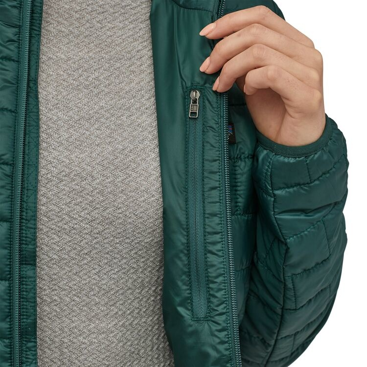 Patagonia W's Nano Puff Jacket, Light Balsamic