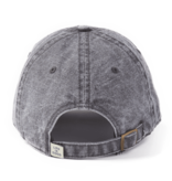Life is Good A Sunworn Chill Cap, Land That I Love, Slate Gray