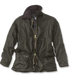 Barbour M's Classic Beaufort Wax Jacket, Olive