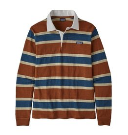 Patagonia M's Long Sleeved Lightweight Rugby Shirt, Rugby: Sisu Brown