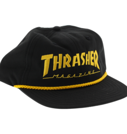 Eastern Skate Supply Thrasher Rope Hat Adjustable-Black/Gold