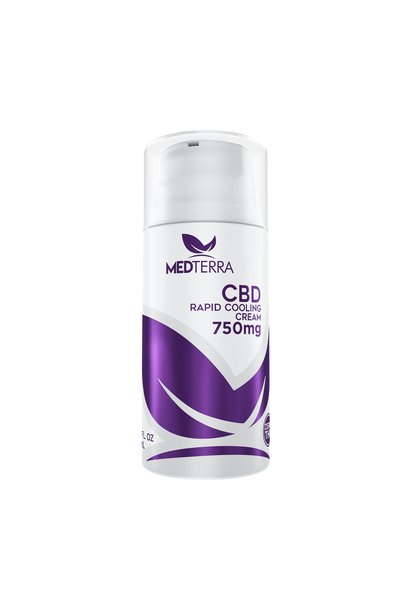 CBD Topical Cooling Cream, 750mg