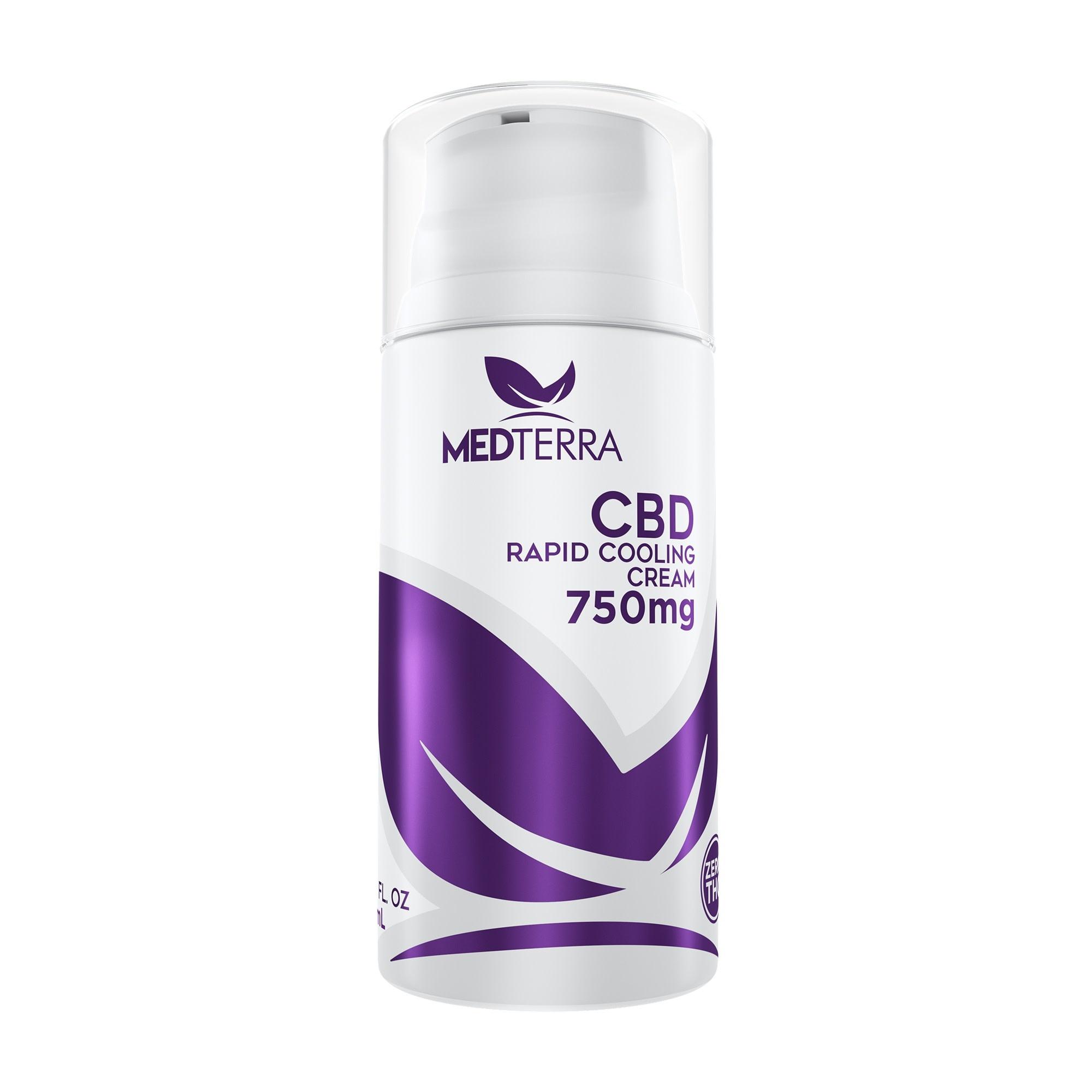 MedTerra CBD Topical Cooling Cream, 750mg